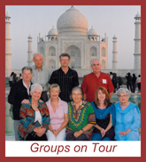 Groups on India Tour