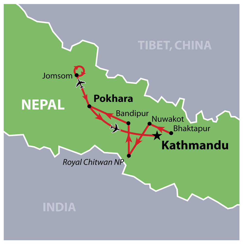 Nepalese Experience Map