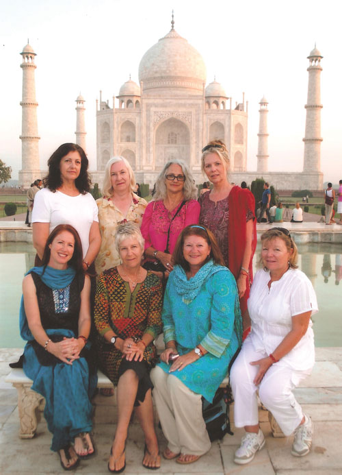 Women Only tour at the Taj Mahal