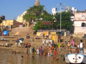 Varanasi Pilgrims and bathers