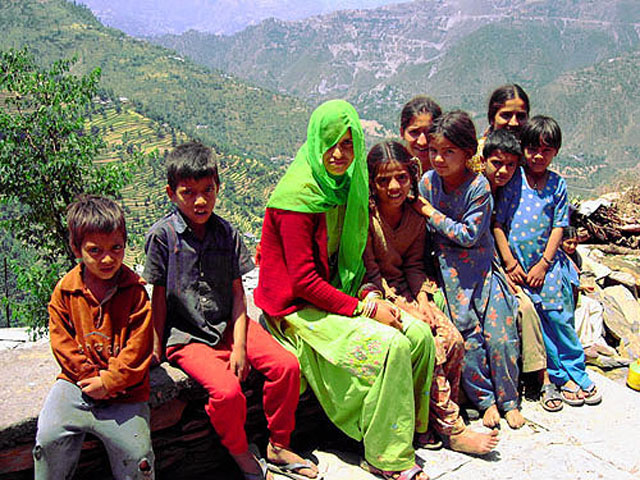 Chamba Valley Children