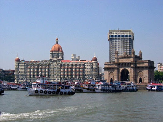 Taj Mahal Hotel and Gateway of India, Mumbai