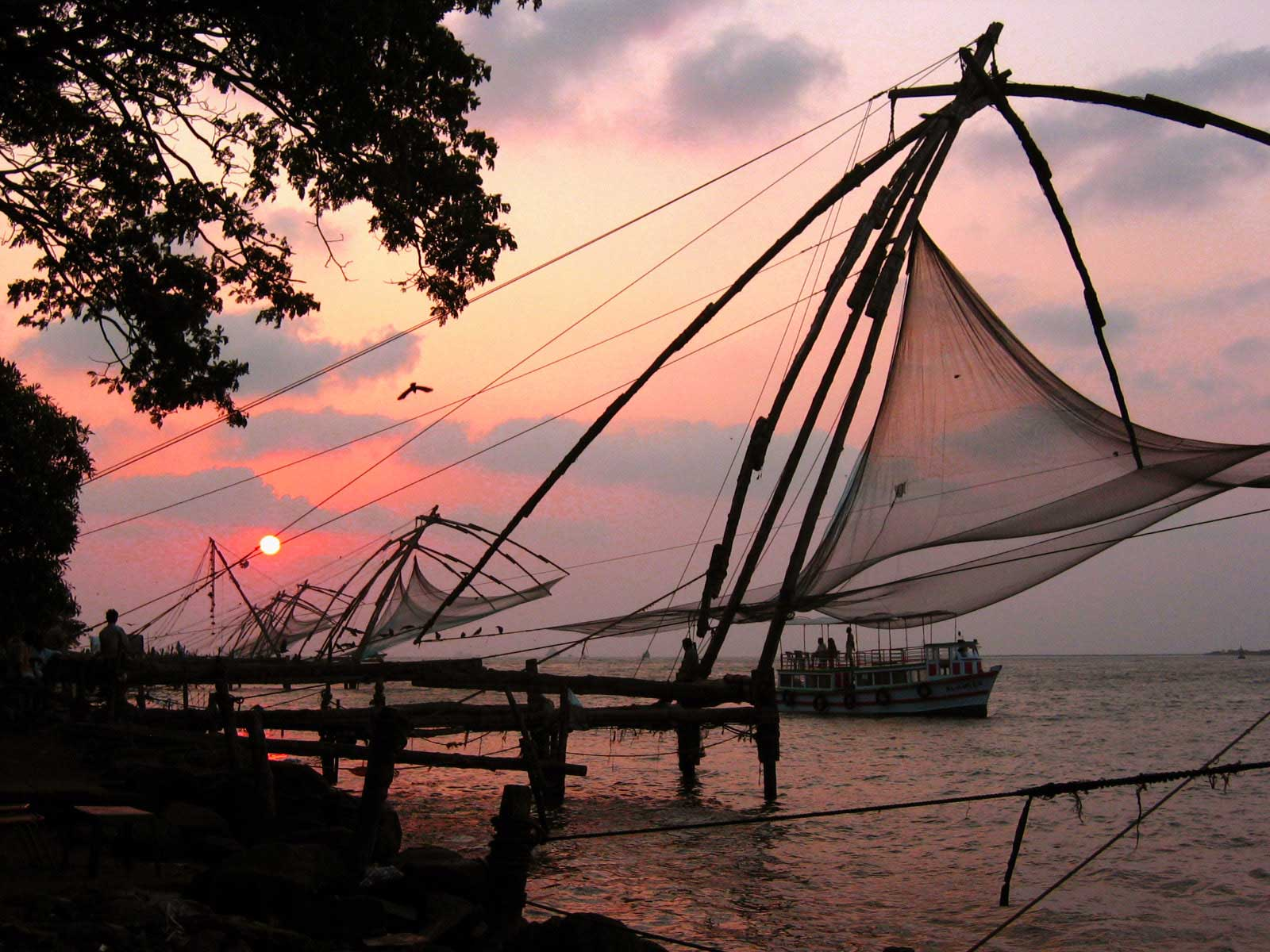 ChineseFishingNetsCochin Our favourite places in India   Cochin