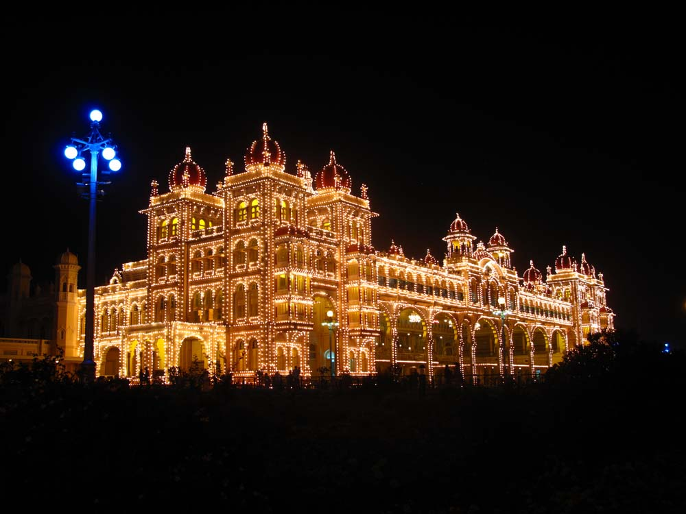 Mysore Palace Lights 4 Our favourite places in India   Mysore
