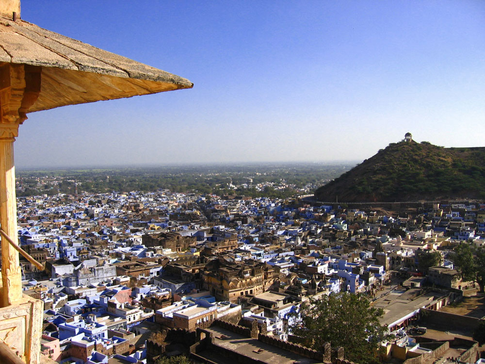 Bundi view from palace