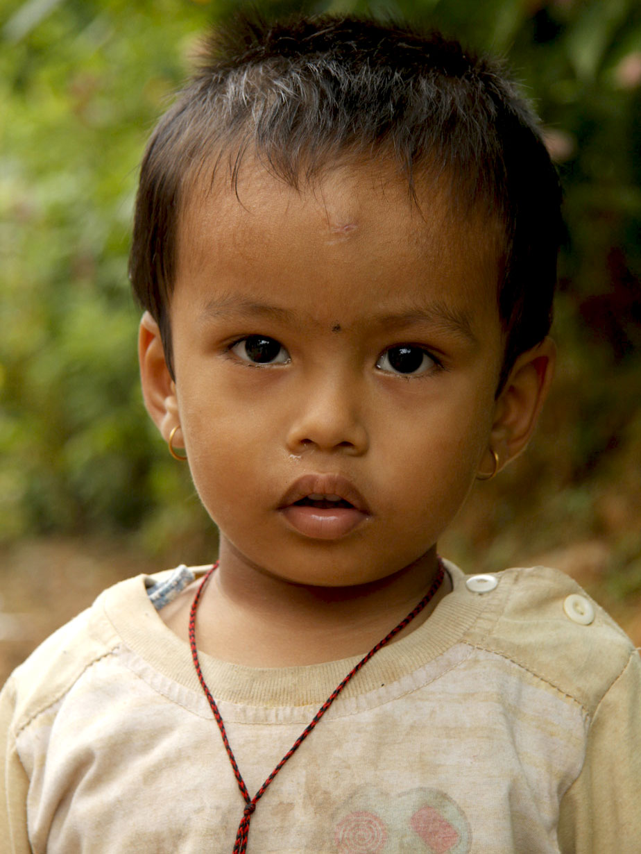 Young girl in Bandipur, Nepal