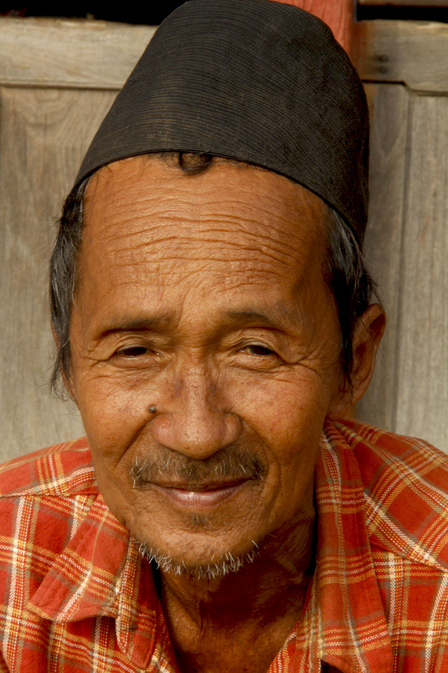 Man in Bandipur, Nepal