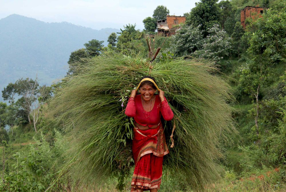 Woman in Nuwakot, Nepal