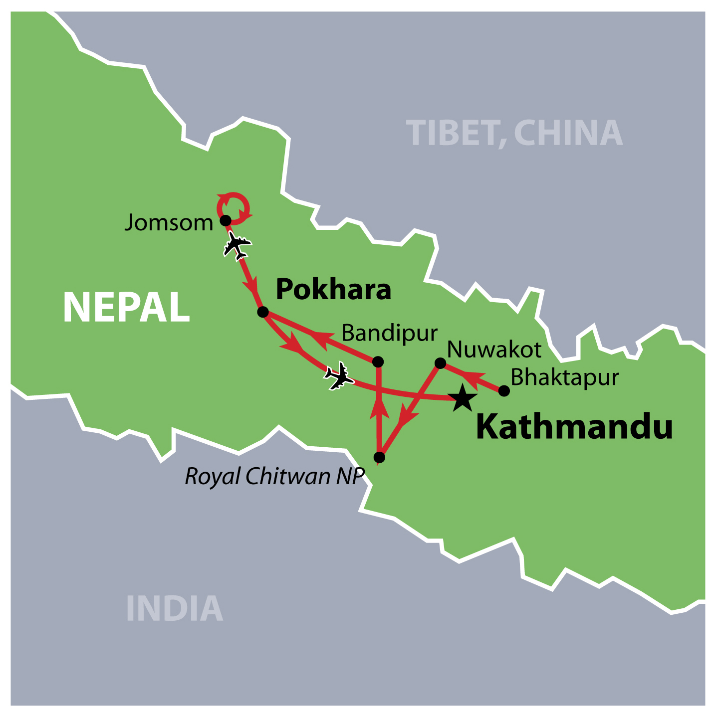 Nepal3a Incredible Nepal 16 Day Tour