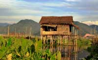 Inle Lake Stilt House