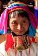 Padaung Tribal Woman