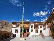 Buddhist Monastery Ladakh India