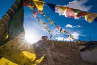 Prayer Flags Ladakh India