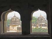 Chattris Orchha India