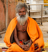 Saddhu Pushkar Rajasthan India