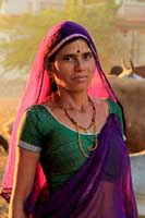 Village Woman, Pushkar India