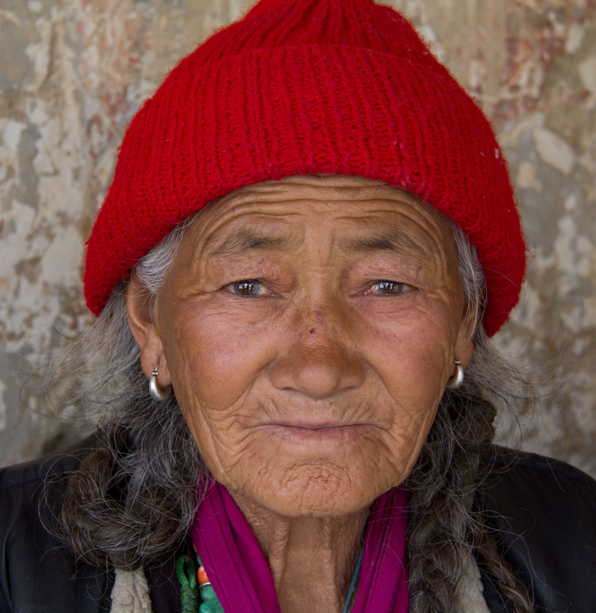 Woman at Lamayuru Monastery