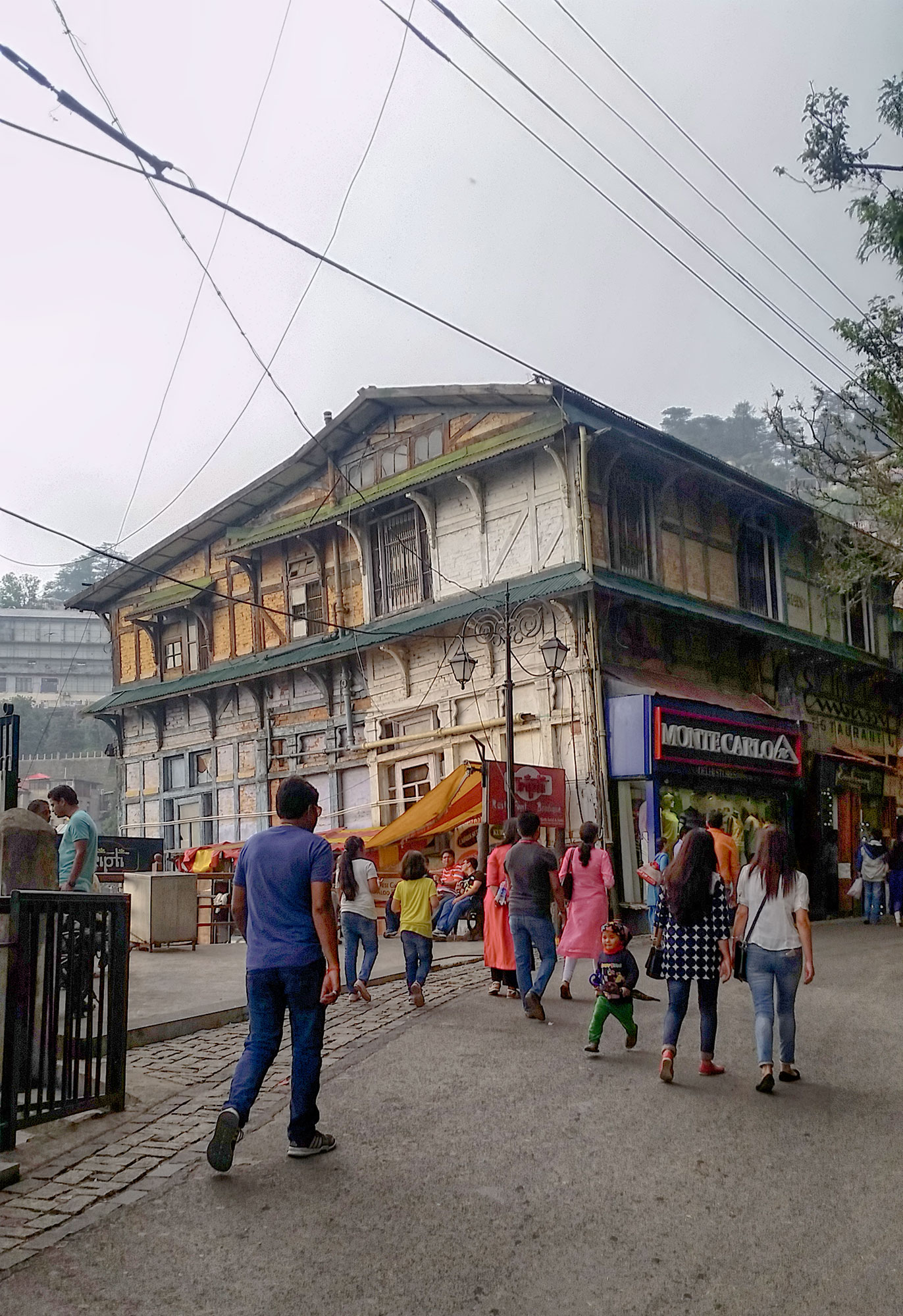Old building in Shimla