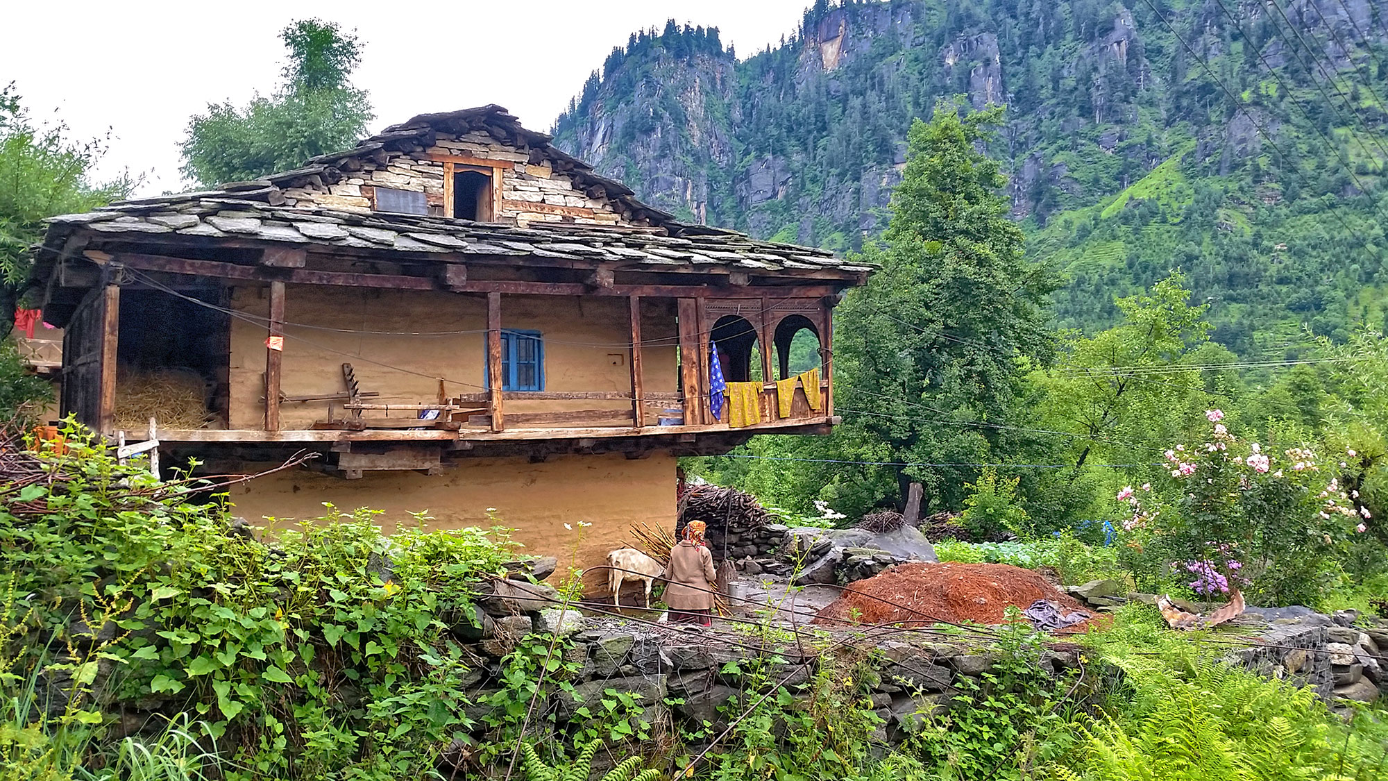 Traditional village house, Manali