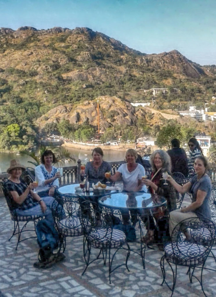Drinks with a view Mt Abu